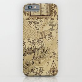 The Wizard world of Hogwarts iPhone Case