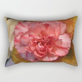 Pink Carnation Rectangular Pillow