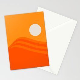 Swell - Orange Crush Stationery Cards