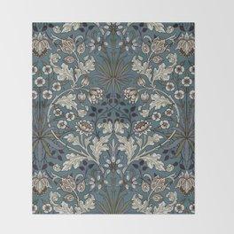 "William Morris ""Hyacinth"" 3. Throw Blanket"
