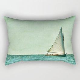 sailing cape cod seas Rectangular Pillow