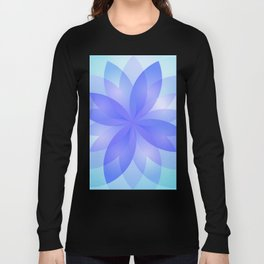 Abstract Lotus Flower G303 Long Sleeve T-shirt