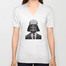 Darth Vader portrait #2 Unisex V-Neck