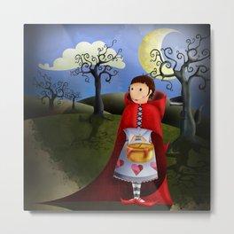 Red Riding Hood Metal Print