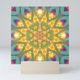 Magical Bohemian Sunflower Mini Art Print