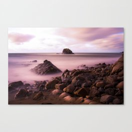 Black Rock, Widemouth Bay, Bude, Cornwall, England, UK Canvas Print