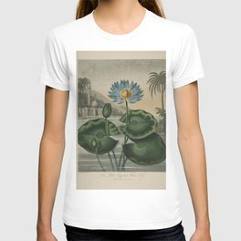 Temple of Flora Blue Egyptian Water Lily T-shirt