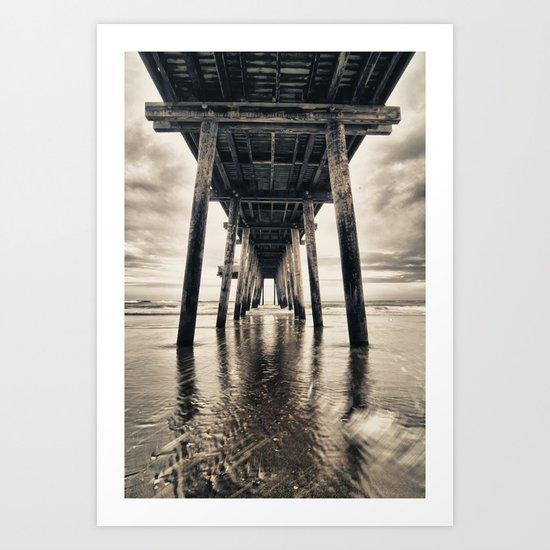 Ocean City Pier Art Print