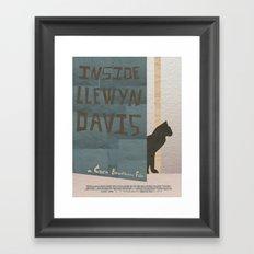 Inside Llewyn Davis Minimalist Framed Art Print