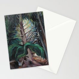 Old Timer by Emily Carr Stationery Cards