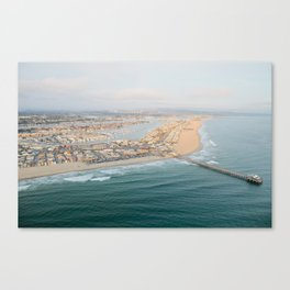Newport Beach Pier Canvas Print