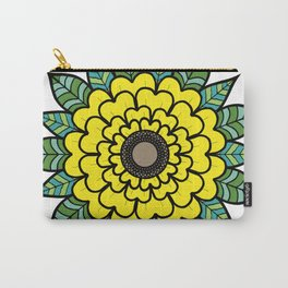 Sun of the Flower Sunflower Carry-All Pouch