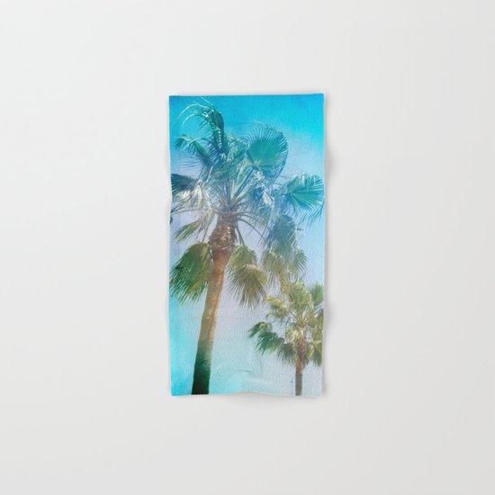 """Palms. Beach"" Hand & Bath Towel"