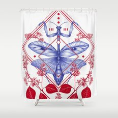 Evolution III Shower Curtain