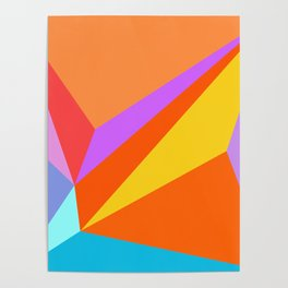abstract geometric design for your creativity    Poster