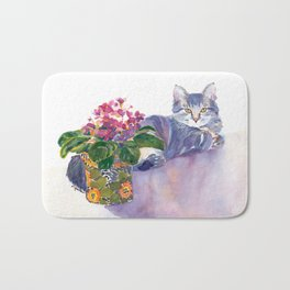 Table for Two Bath Mat