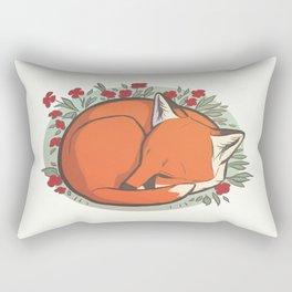 Fox Kit Rectangular Pillow