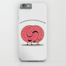 Husband and Wife iPhone 6s Slim Case