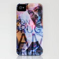 i don't do drugs Dali iPhone (4, 4s) Slim Case