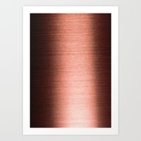 copper Art Prints featuring Copper by Tami Cudahy