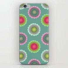 transparent floral pattern 3 iPhone & iPod Skin