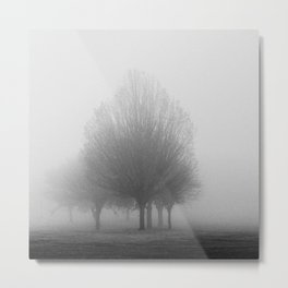 The fog consumed us all Metal Print