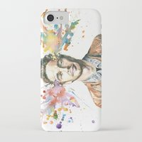 james franco iPhone & iPod Cases featuring Mind Blown::James Franco by James Murlin