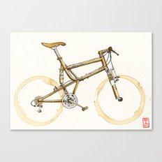 Coffee Wheels #16 Canvas Print