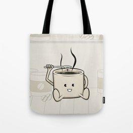 My favorite (food-cafe) Tote Bag