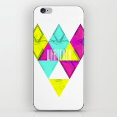 Paper Triangles ▵WHATEVER▵ iPhone & iPod Skin