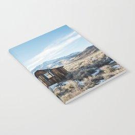 Lone Cabin Scene Notebook