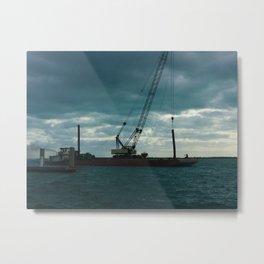 Bimini Barge Metal Print