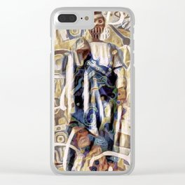 Luqas: Patron of Graffiti Artists Clear iPhone Case