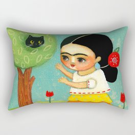The Cat Rescue! Rectangular Pillow