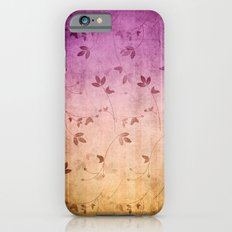 ABSTRACT FLORAL Slim Case iPhone 6s