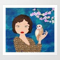 friendship Art Prints featuring Friendship by MyimagesArt