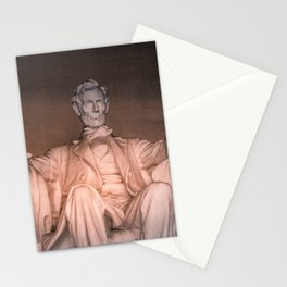 Lincoln Memorial Washington DC Stationery Cards