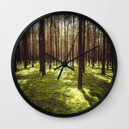 FOREST - Landscape and Nature Photography Wall Clock
