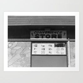 Convenience Art Print