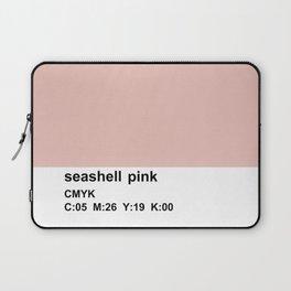 pantone colorblocking design, cmyk pink Laptop Sleeve