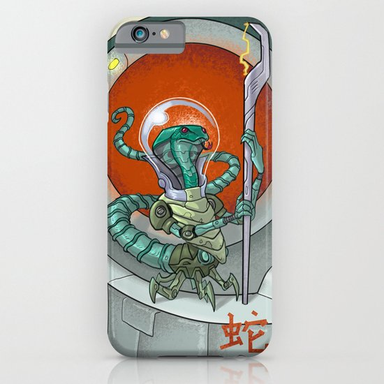 Astro Zodiac Force 06: Snake iPhone & iPod Case