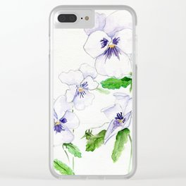 Snow Whites Clear iPhone Case