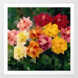 Chrysanthemums 1 Art Print