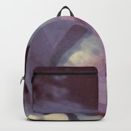 """Spring abstract in pink and purple"" Backpack"