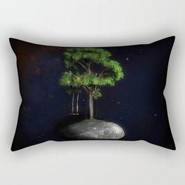 The Fourth Sanctuary in Space Rectangular Pillow