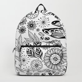 Dragonfly garden Backpack