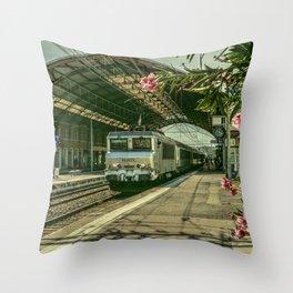 Avignon Electric Throw Pillow