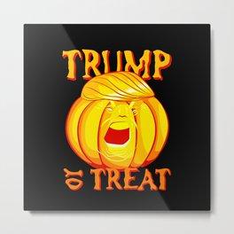 trumpumpkin Metal Print