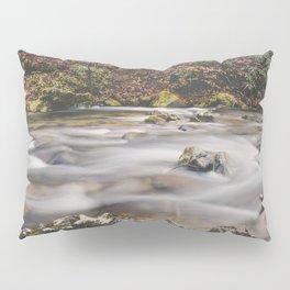 Rushing River in the Fall Pillow Sham