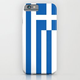Flag of Greece Greek iPhone Case